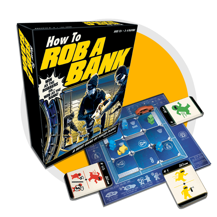 How To Rob A Bank Board Game Contents