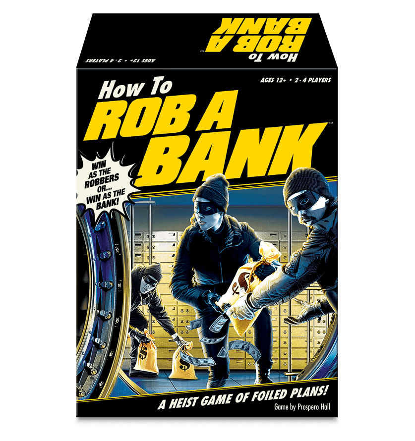 How To Rob A Bank Board Game Box