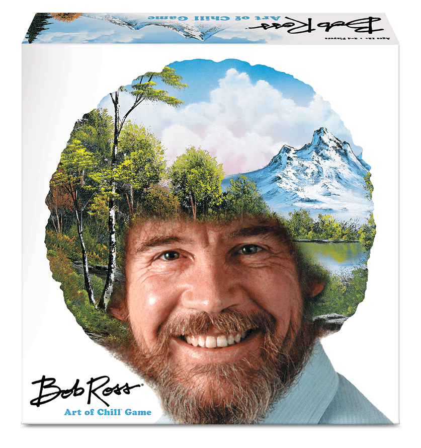 Bob Ross Art of Chill Board Game Box