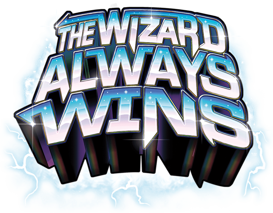 The Wizard Always Wins Board Game Logo