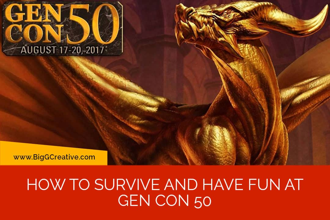 How to survive and have fun at Gen Con 50