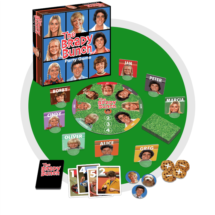 The Brady Bunch Game Contents