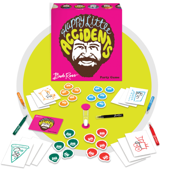 Bob Ross: Happy Little Accidents Party Game -  Big G Creative
