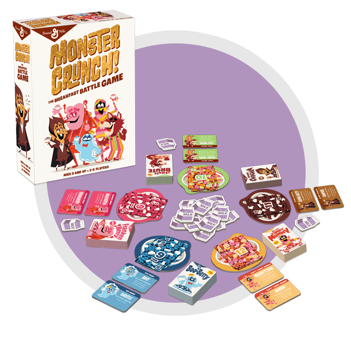 Monster Crunch Game Contents