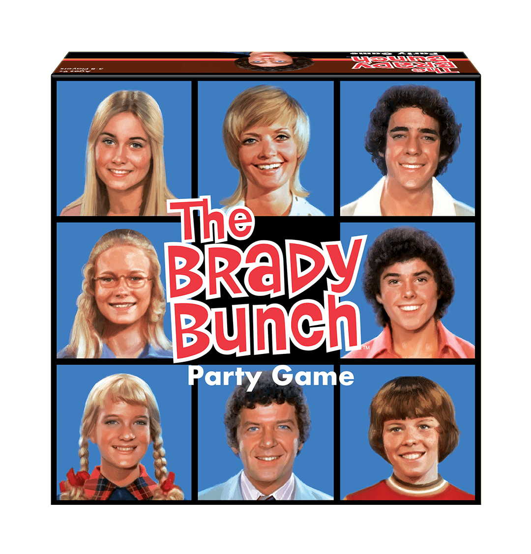 The Brady Bunch Party Game Box