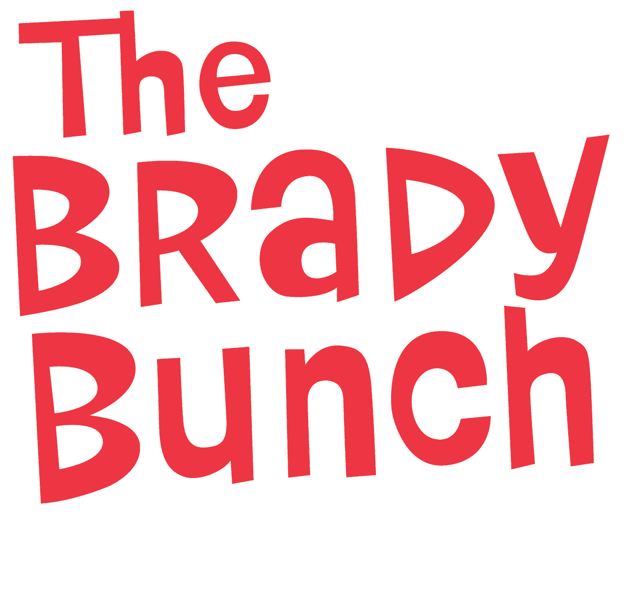 The Brady Bunch Party Game Logo