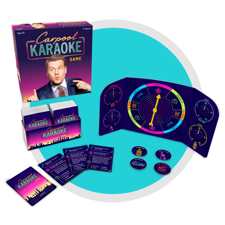 Carpool Karaoke Game Contents