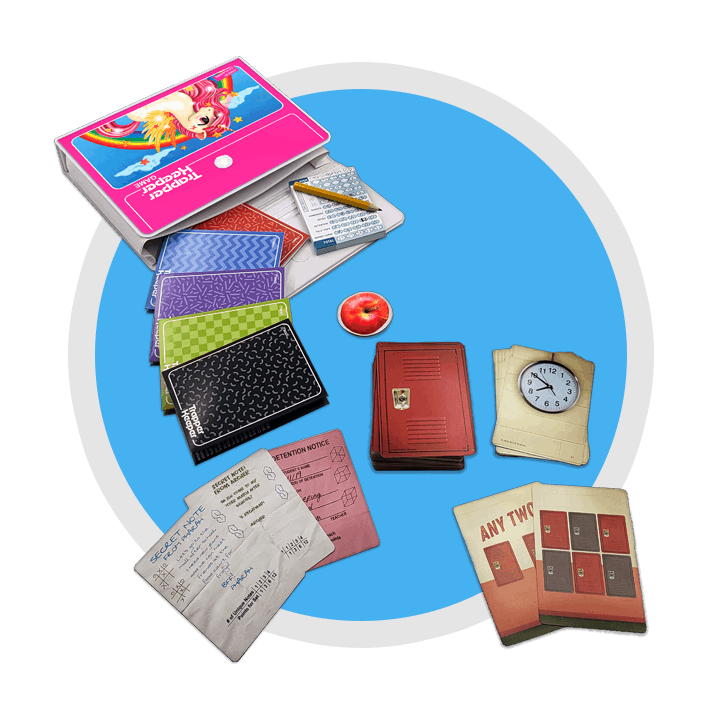 Trapper Keeper Game Contents